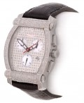 Aqua Master Men's Diamond Encrusted Watch
