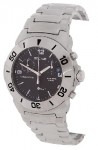 Sector 220 Men's Stainless Chronograph Black Dial Watch