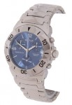 Sector 220 Men's Stainless Chronograph Blue Dial Watch