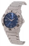 Sector 220 Men's Stainless Steel Blue Dial Watch