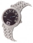 Gerald Genta Arena Retro Jump Hour Women's Steel Watch