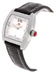 Mount Royal Curved Rectangle Watch - White