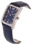 Gevril Gv2 Men's Stainless Steel Blue Strap Watch