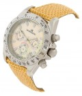 Mount Royal Ladies Yellow Chronograph Watch