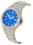 Mount Royal Men's Blue Sporty Stainless Steel Watch