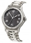 Ebel 1911 Men's Grey Dial Stainless Steel Bracelet Watch