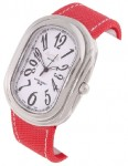 Activa by Invicta Women's Red Nylon Strap Watch