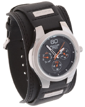 casio men s redline wide strap black dial watch only 36 99 free