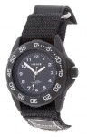 Prague Men's Black Dial Sports Watch