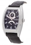 Prague Men's Atlantic Black Dial Automatic Watch