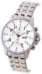 Puma Classic Men's Chronograph White Steel Watch