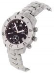 Victorinox Chrono Star Women's Black Dial Steel Watch