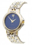 Paolo Gucci Men's Two-tone Blue Dial Watch