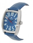Lucien Piccard Blue Leather Watch
