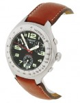 Tissot Men's Brown Leather Strap Watch