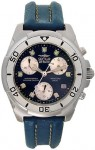Sector 250 Men's Blue Leather Chronograph Watch