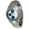 Seiko Mens 100M Chronograph Stainless Steel Watch